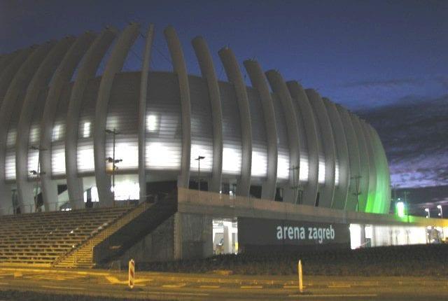 Arena Zagreb 21 12 08